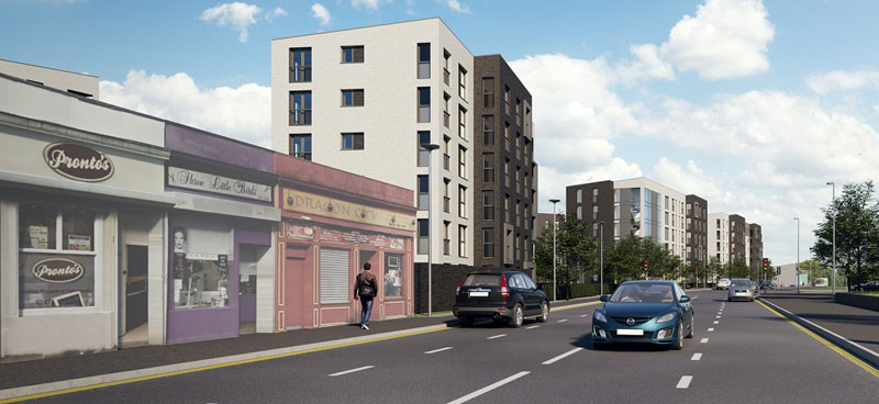 CONSTRUCTION Of Apartments Gets Underway At East End Site