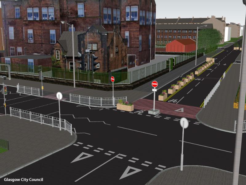 CHANGES To Dennistoun Roads Aim To Create 'Low Traffic Neighbourhood'