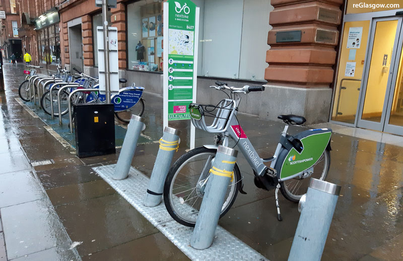 BIG Expansion Of Glasgow's Electric Bike Hire Scheme Is Among Sustainable Transport Initiatives