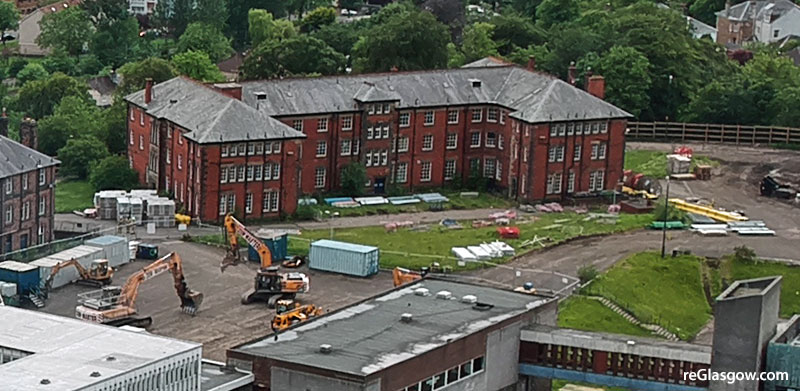 TOWNHOUSE Proposal For Jordanhill Site Replaces 'Unviable' Conversion Of Old Student Building