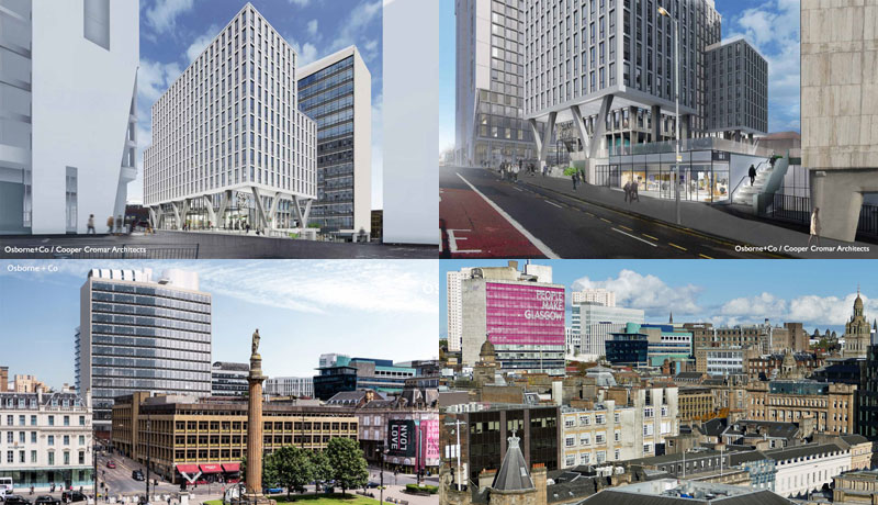 GO-Ahead Given For Major Development At Landmark 'People Make Glasgow' Met Tower Site