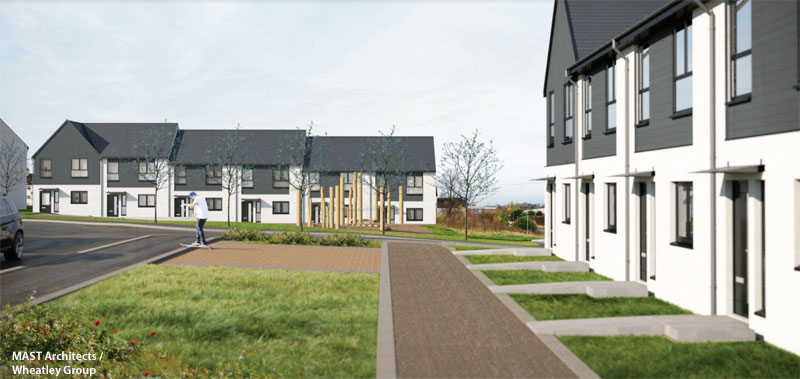 APPLICATION Made For Residential Development In Easterhouse.