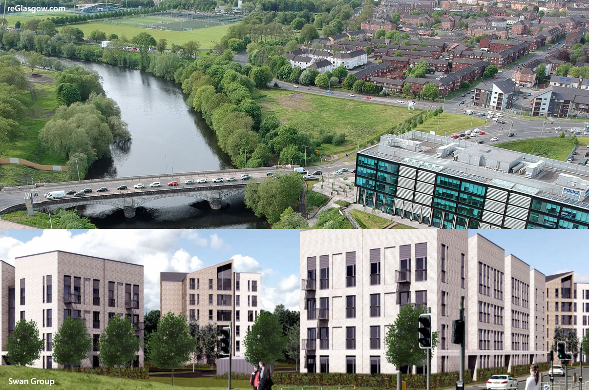 GO-Ahead Given For Major Flats Development Beside River Clyde In East End