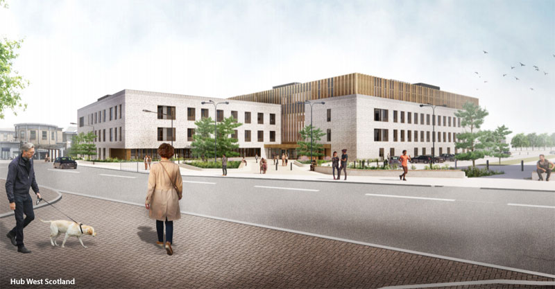 STEP Forward For Massive Parkhead Health Facility As Planning Application Lodged