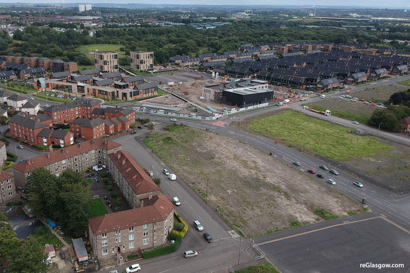 HOUSES And Flats Plan For Vacant East Glasgow Site