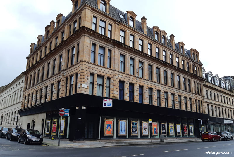 CAFE And Leisure Plan For Large Merchant City Shop Unit
