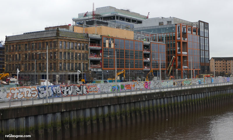 IN Pictures — Latest Views Of Buchanan Wharf