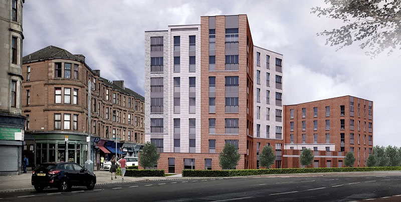 GOVAN Residential Development Submitted For Planning Approval