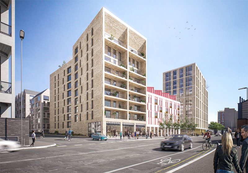 DEVELOPERS Reveal Designs For 700 Homes At Lancefield Quay