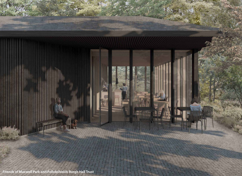 COMMUNITY Pavilion And Cafe Proposed For City Park