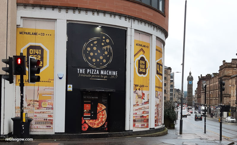 PLANNERS To See If They Have Appetite For Pizza Machine Already Installed