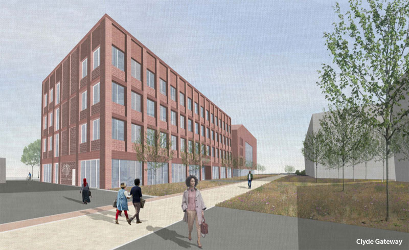 PLANS Drawn Up For Next Office Building At Clyde Gateway Site