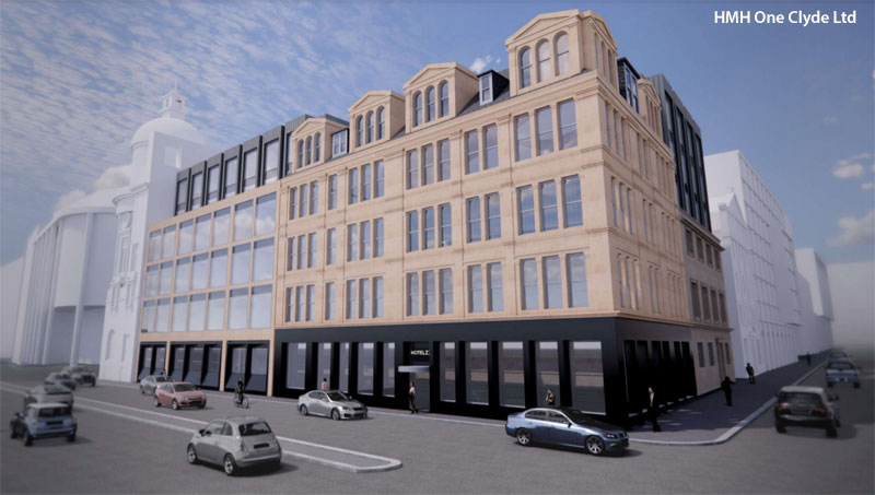 BROOMIELAW Apart-Hotel Development Aims To Combine Old And New