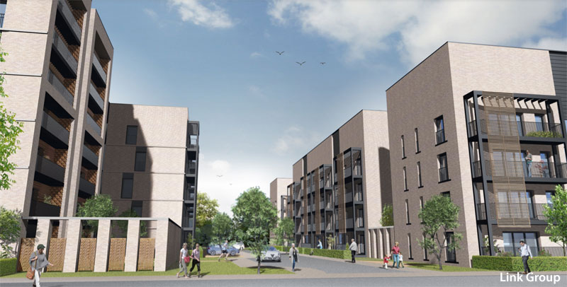 GO-Ahead Given For Major Southside Flats Development At Old Bus Depot Site