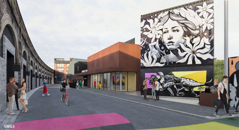 PLANS Revealed For 'Graffiti And Street Art Facility' At Yorkhill Venue