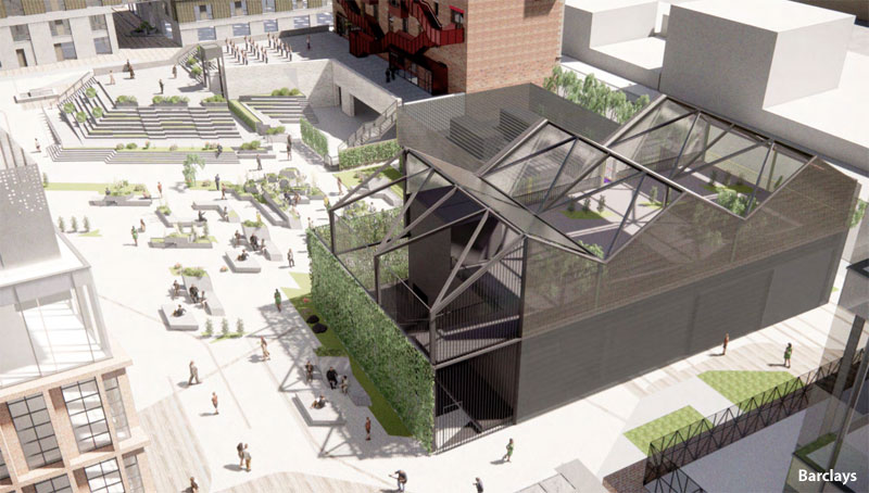 ENERGY Centre And 'Ambitious' Landscaping Plan Submitted For Barclays Glasgow Campus