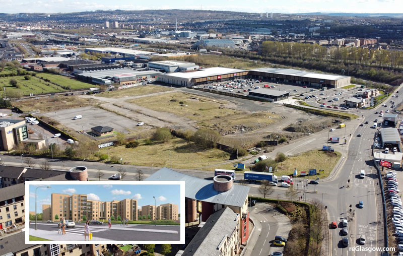 HUNDREDS Of 'Affordable' Smart Technology Build-To-Rent Flats Proposed For Gorbals Site