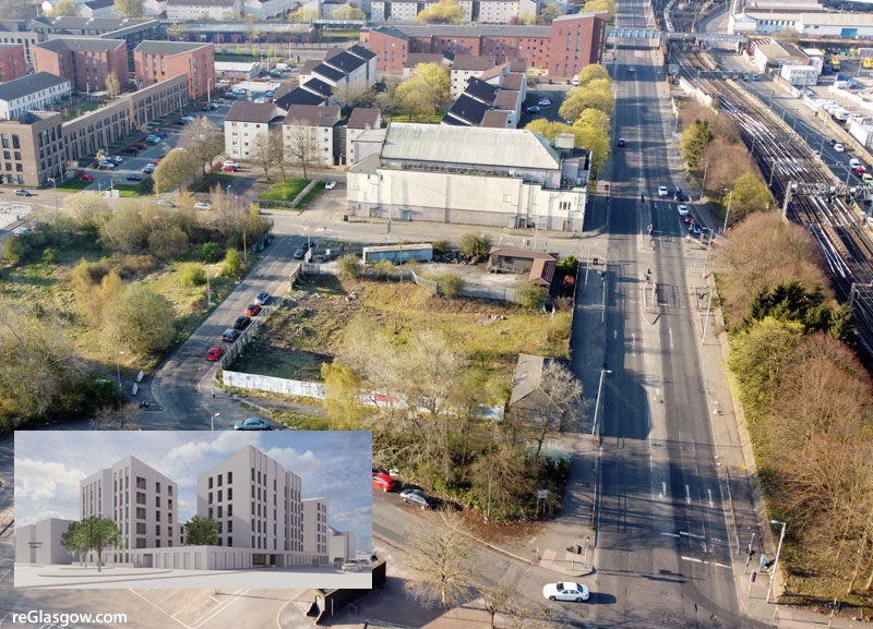 SIXTY-Four Flats Proposed For Old Glasgow Theatre Site