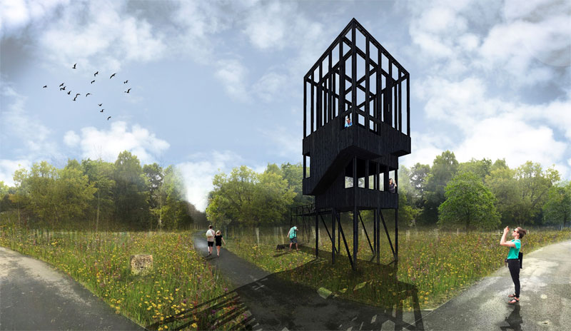 LOOKOUT Tower And Bothy Being Added At River Clyde Urban Park