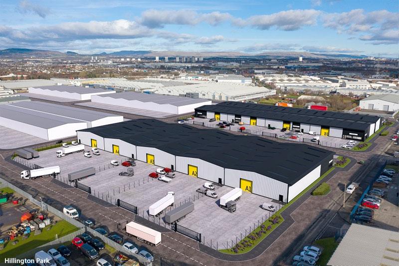WORK Gets Underway On £14Million Commercial Unit Development At Hillington