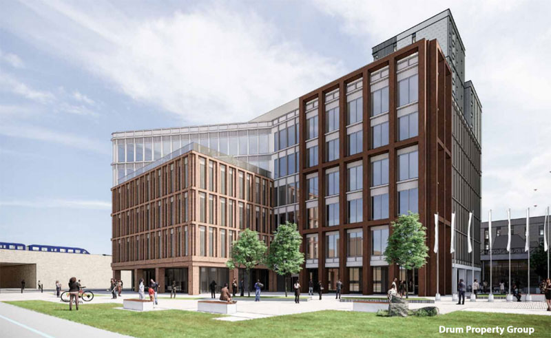 SCALED Down Office Plan Submitted For Buchanan Wharf