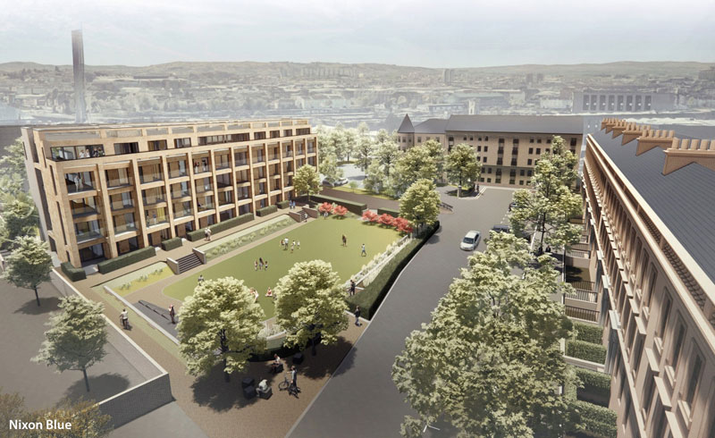 BIG Reduction In Number Of Apartments In Third Bid To Build At Former Finnieston Bowling Club