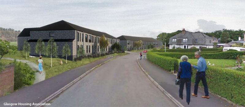 GO-Ahead Given For Pollok Residential Development