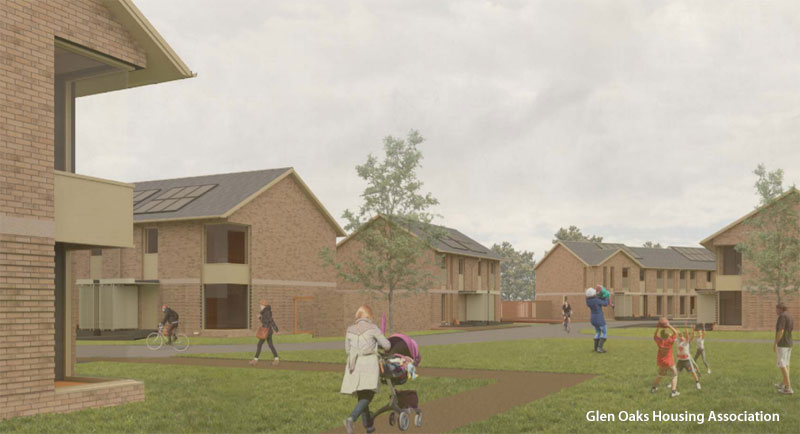 PLAN For Nearly 50 Homes Agreed For South Glasgow Site