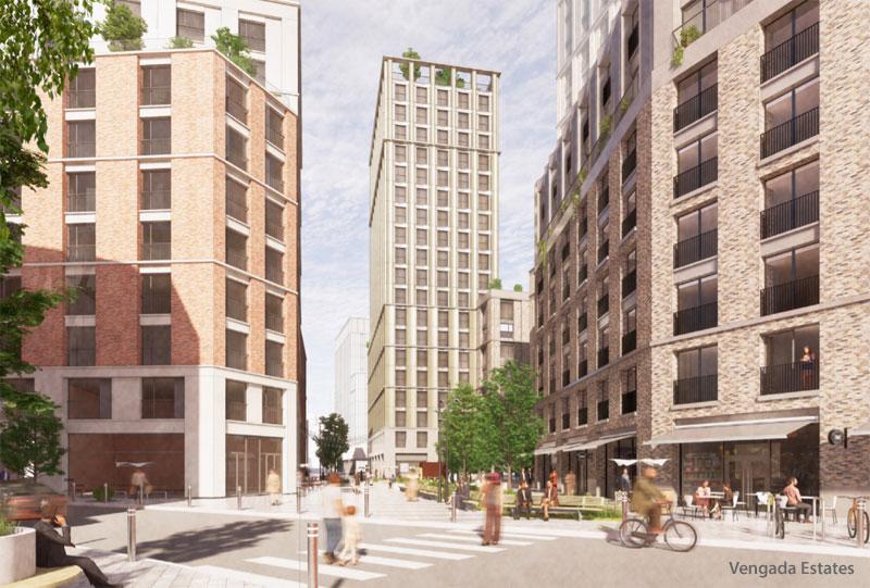 PLANS Progress For 'Vibrant Urban Quarter' Transformation Of Car Park Site