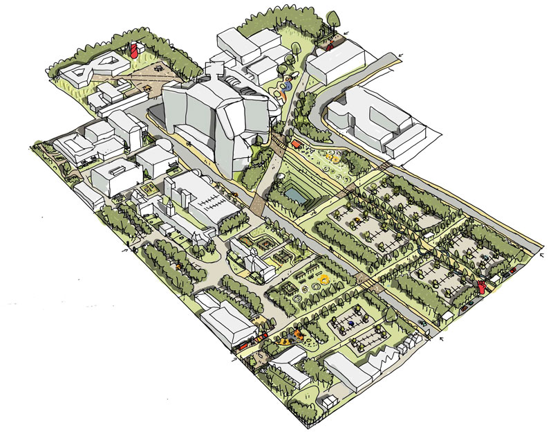 GREENSPACE Project Launched At Queen Elizabeth University Hospital