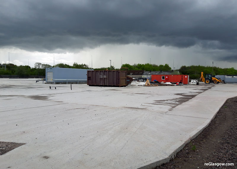 TRUCK Stop Plan For Large East Glasgow Site
