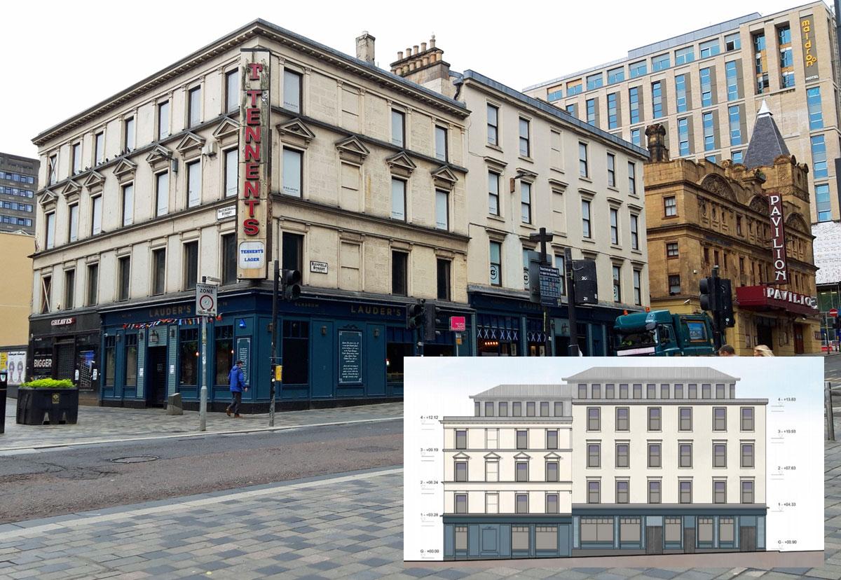 APART-Hotel Plan For Empty Glasgow City Centre Sports Shop