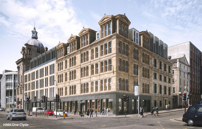 PLANNING Application Submitted For £18Million Broomielaw Hotel Development