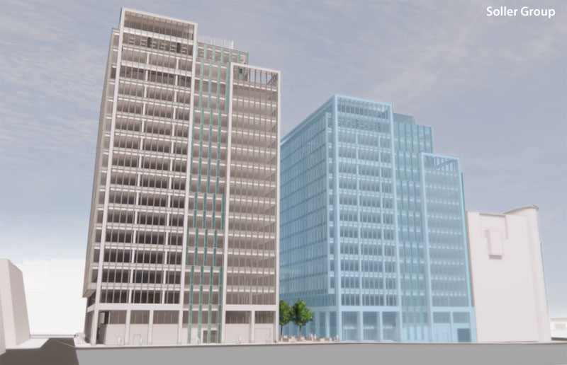 PROPOSED 17-Floor Office Block Would Mean Loss Of Glasgow City Mission Building