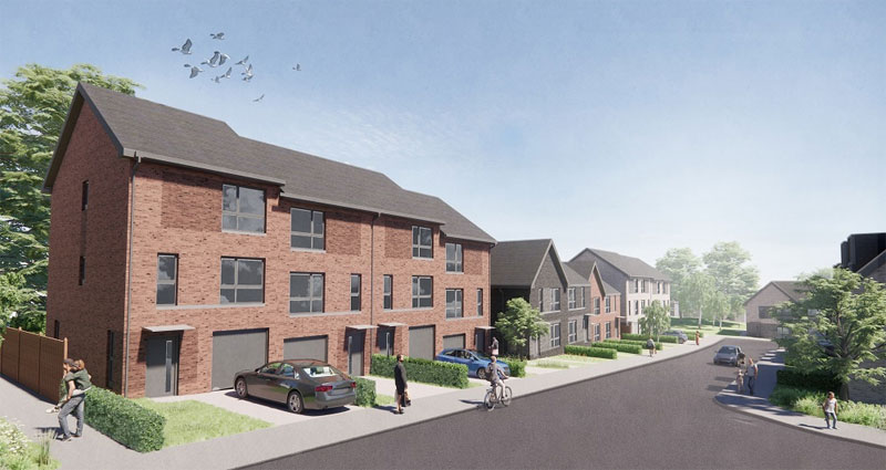 FIRST Look At Homes Planned For Large Springboig Site