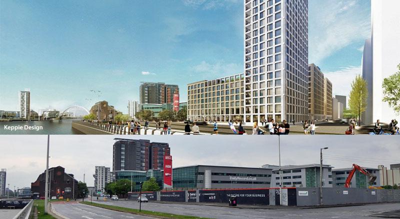 MASSIVE £100Million Build-To-Rent Scheme With 20-Storey Tower Gets Underway