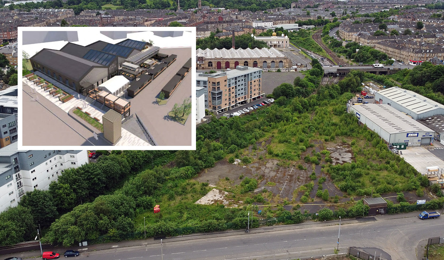 SOUTH Side Mixed-Use Proposal Includes Snooker Hall And Containerised Drive-Thru Food Area