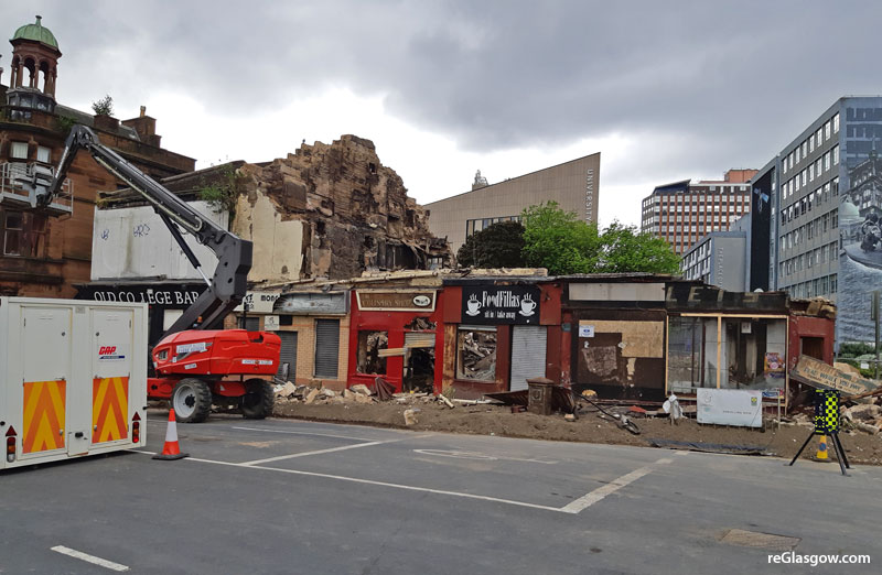 IN Pictures — 'Going, Going, Gone' For High Street Blaze Buildings