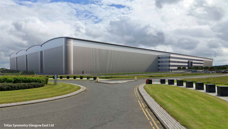 PERMISSION Sought For Massive Warehouse/Office Development In North East Glasgow