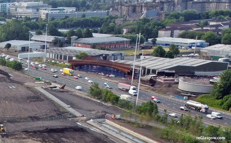 MOTORWAY To Close While Main Span Of Bridge Is Installed At Sighthill