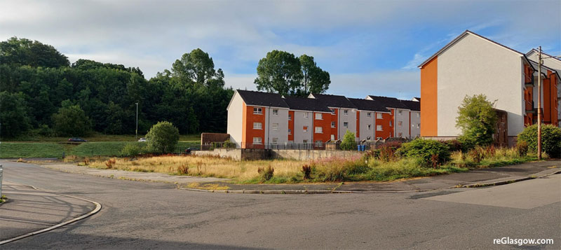 FLATS And Shop Proposed For Castlemilk Site