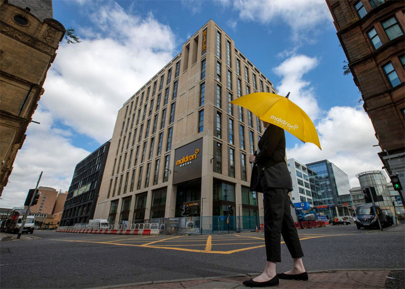 £40MILLION Four-Star Hotel Opens For Business In Glasgow City Centre