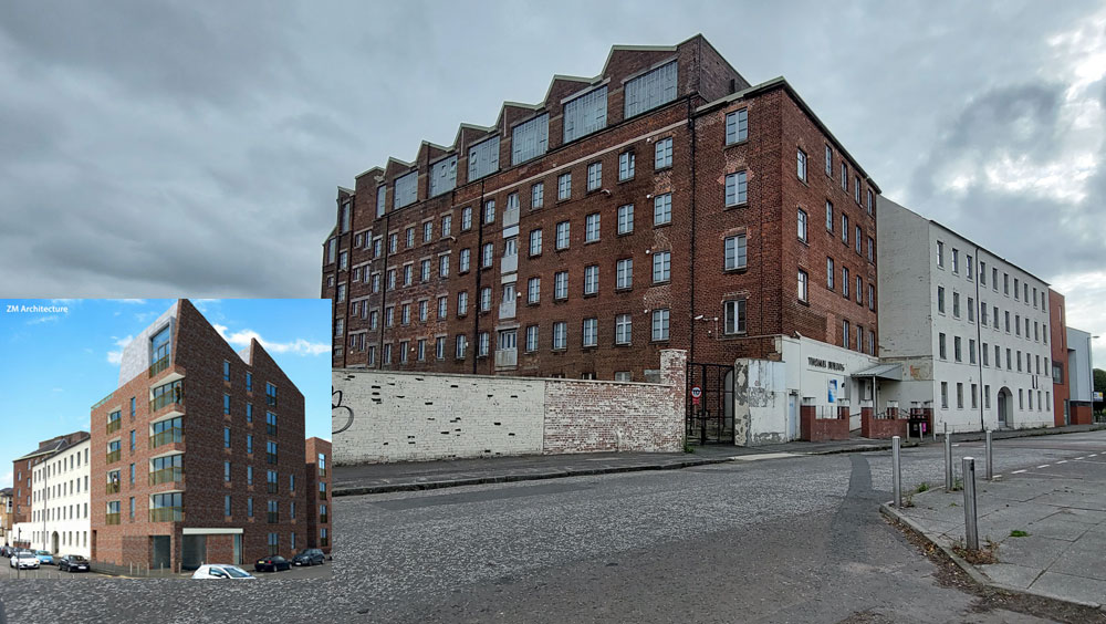 GO-Ahead Given For Major Residential Development At Historic Mill Buildings