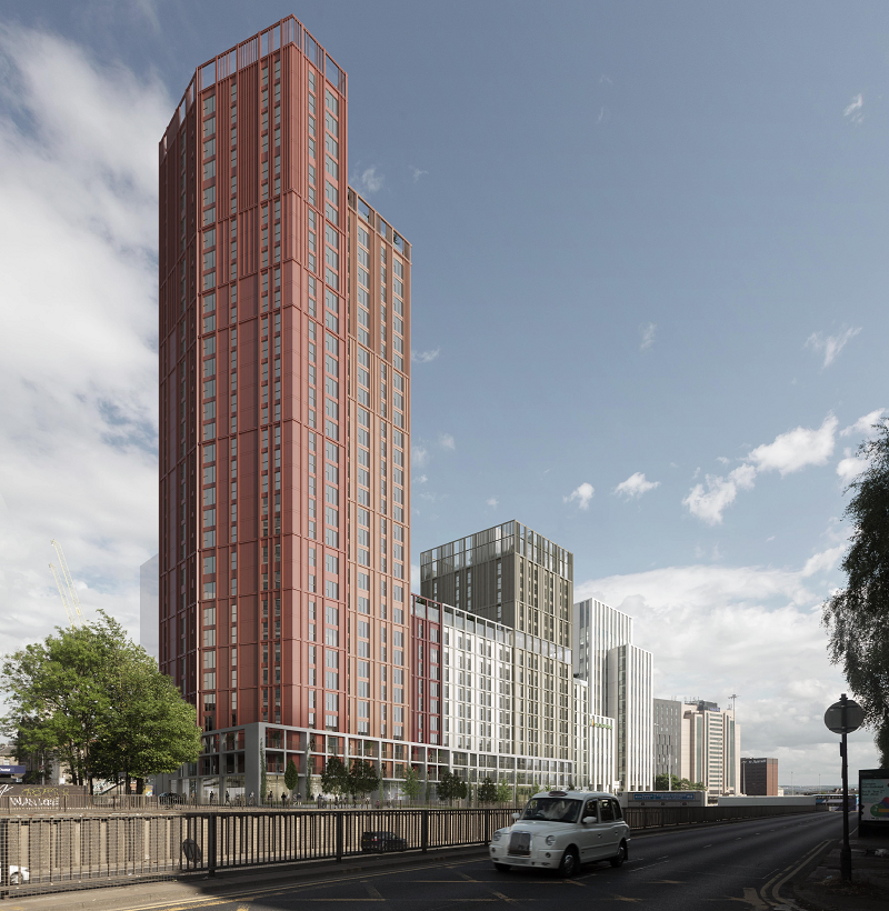 HIGH-Rise Charing Cross Development Moves To Planning Application Stage