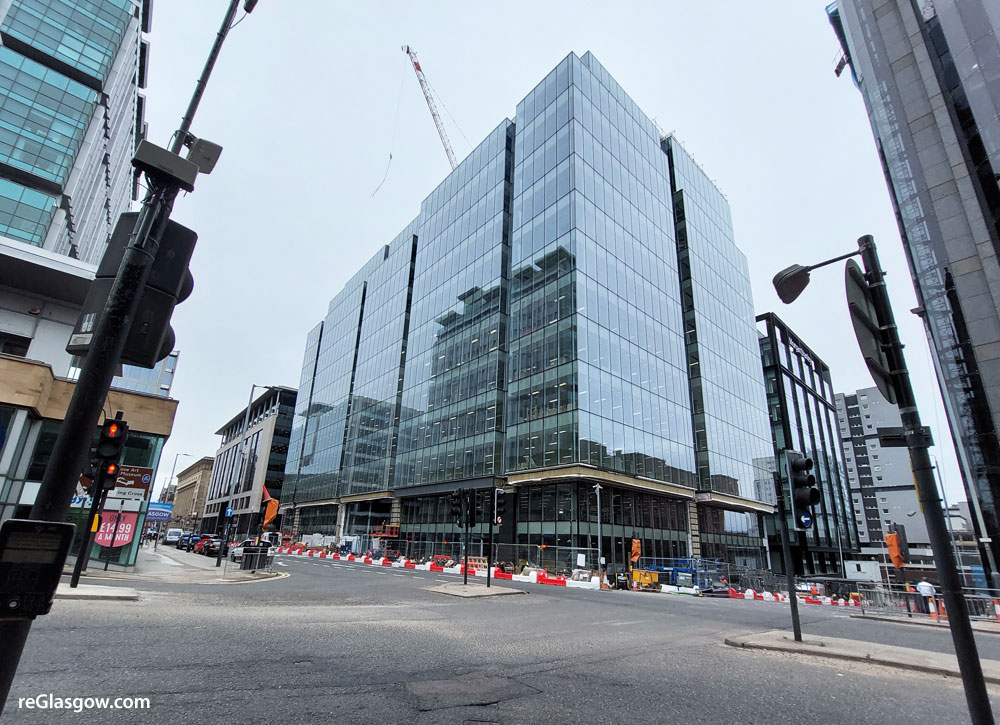 ONLY One Floor Unlet As City's Largest Office Block Nears Completion