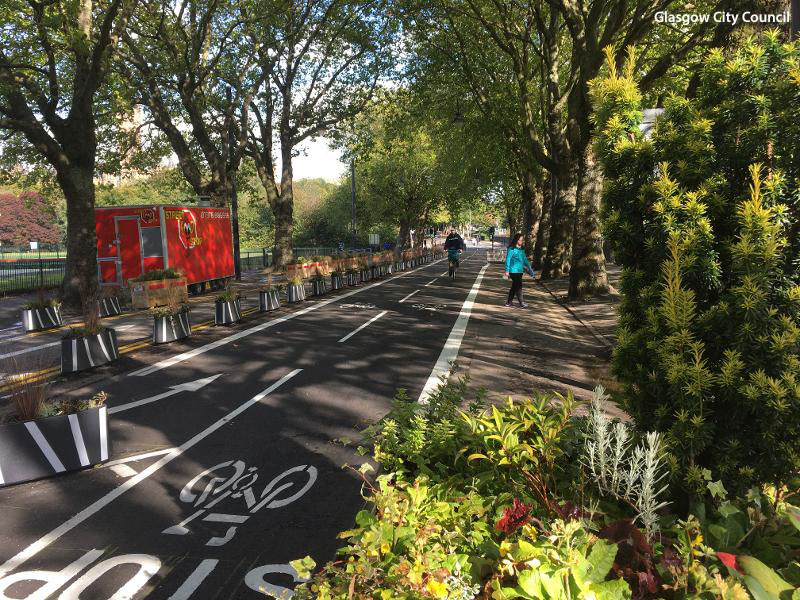 FORTY Kilometres of Spaces For People Cycleways To Be Made Permanent