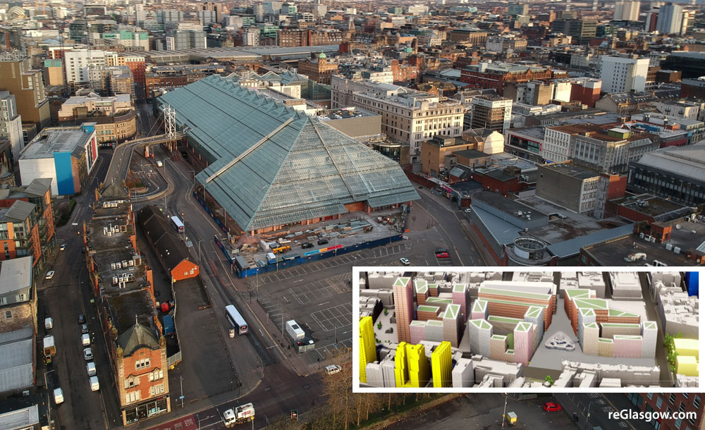 RE-Imagining Of St Enoch Centre Includes 25-Storey Hotel And 1,700 Homes
