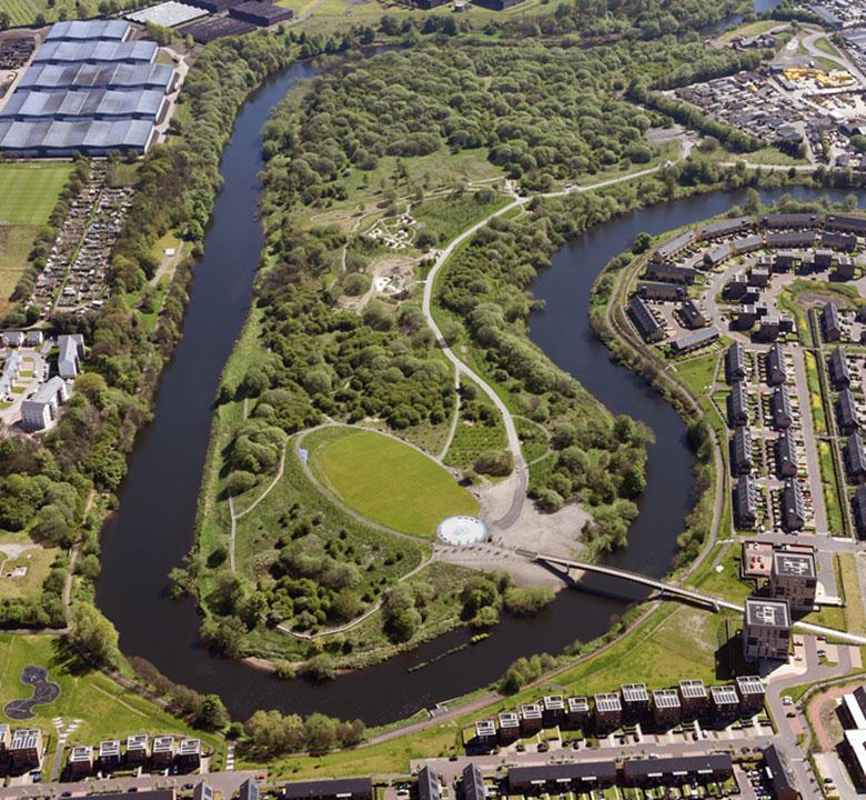 EXPANSION Of Clyde Gateway's Cuningar Loop Woodland Park Gets Underway